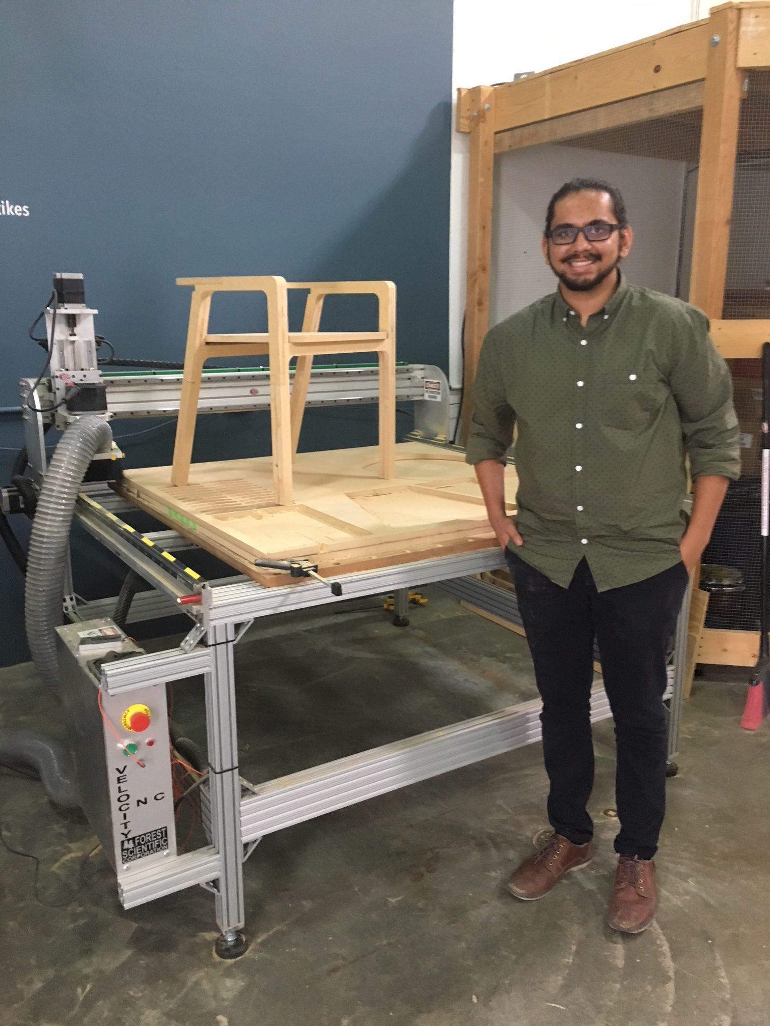Designing Building Wood Furniture With Cnc Machining Digital Badge